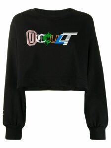 Omc Occult graphic print sweatshirt - Black