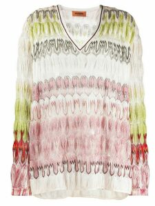 Missoni fine knit jumper - NEUTRALS