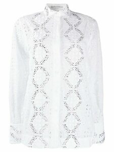 Ermanno Scervino broderie anglaise shirt - White