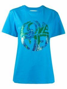 Alberta Ferretti Love Me T-shirt - Blue