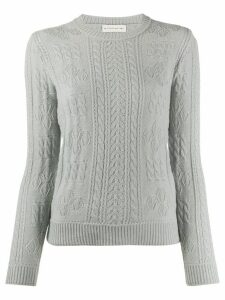 Etro wool long sleeve jumper - Grey
