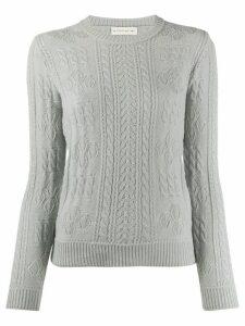 Etro wool long sleeve jumper - Grey