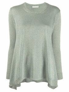 Etro knitted long sleeve swing top - Green