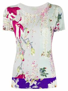 Etro floral-print jumper - NEUTRALS