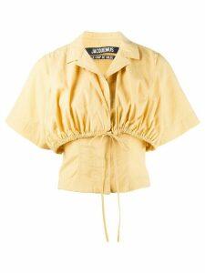 Jacquemus Le Haut Mimosa blouse - Yellow