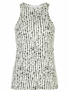 Proenza Schouler White Label dot-print knitted tank top