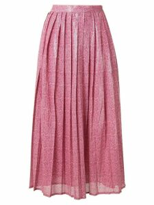 Olivia Rubin Esme dash print skirt - PINK