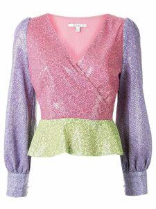 Olivia Rubin Catie sequin blouse - PINK
