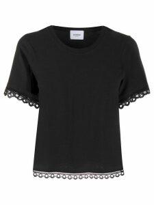 Dondup embroidered D-logo T-shirt - Black