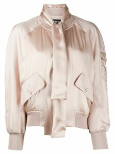 Tom Ford satin bomber jacket - PINK