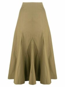 Joseph flared A-line skirt - Brown