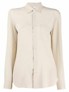 Aspesi silk long sleeve blouse - NEUTRALS