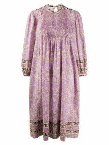 Isabel Marant Étoile floral print midi dress - PURPLE