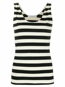 Philosophy Di Lorenzo Serafini striped vest top - Black