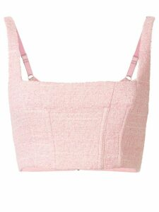 Manning Cartell cropped sleeveless top - PINK