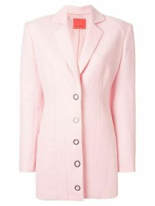 Manning Cartell oversized structured shoulder blazer - PINK