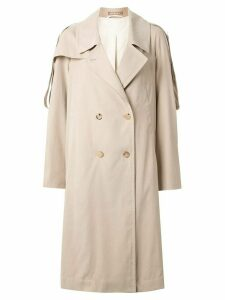 Nehera Caola oversized trench coat - Brown
