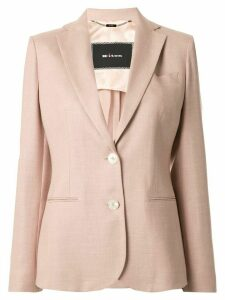 Kiton single-breasted fitted blazer - PINK