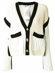 Ports 1961 layered cardigan - White