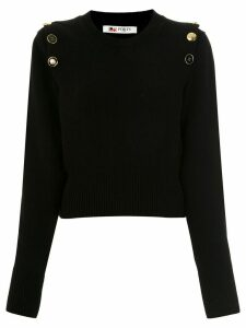 Ports 1961 button shoulder jumper - Black