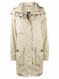 Canada Goose Cavalry hooded trench coat - NEUTRALS