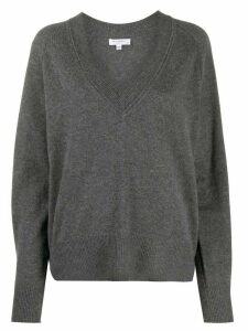 Equipment Madalene V-neck jumper - Grey