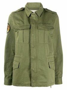 Zadig & Voltaire Kayak multi-pocket military jacket - Green