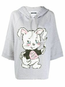 Moschino Don't Call Me Cute hoodie - Grey