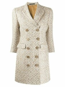 Tagliatore Annabelle tweed coat - NEUTRALS