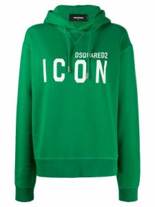 Dsquared2 Icon-print hooded sweatshirt - Green