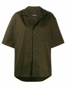 Dsquared2 oversized short-sleeved shirt - Green
