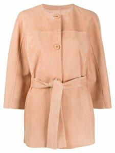 Drome collarless jacket - PINK