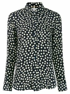 Saint Laurent polka dot print shirt - Blue