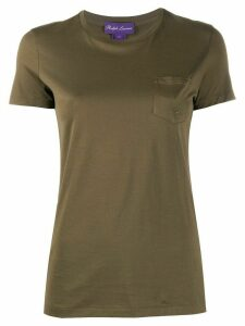 Ralph Lauren Collection one-pocket crew neck T-shirt - Green