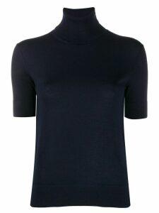 Ralph Lauren Collection turtle neck cashmere top - Blue