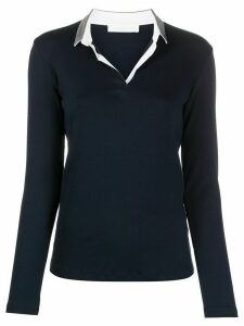 Fabiana Filippi slim-fit polo shirt - Blue