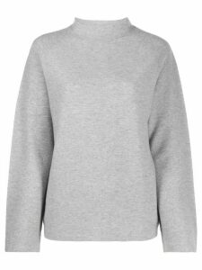 Fabiana Filippi mock neck jumper - Grey