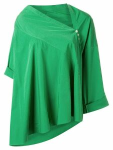 Palmer / Harding asymmetric triangle blouse - Green
