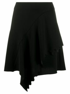 Chloé scalloped draped skirt - Black
