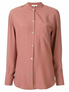Vince Relaxed Band Collar blouse - PINK