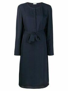 Filippa-K Milla belt Dress - Blue