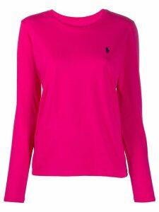 Polo Ralph Lauren long sleeved T-shirt - PINK