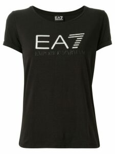Ea7 Emporio Armani Train Studded Logo T-shirt - Black
