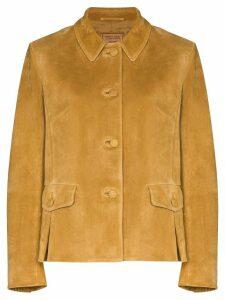 Prada button-up shirt jacket - Brown