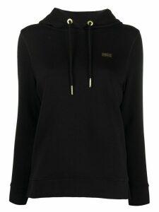 Barbour chest logo hoodie - Black