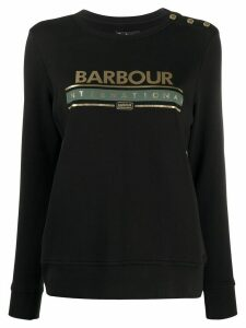 Barbour logo print sweatshirt - Black