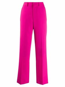 Ami Paris Woman Wide Fit Trousers - PINK