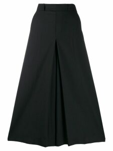 Ami Paris high-waist divided skirt - Black