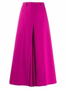 Ami Paris high waist cropped trousers - PINK