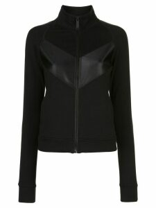 ALALA panelled zip-up sweatshirt - Black